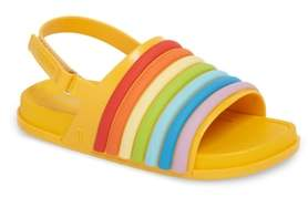Mini Melissa Rainbow Beach Sandal
