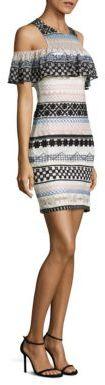 Parker Eleni Ruffled Dress $398 thestylecure.com