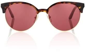 Cartier Eyewear Collection C de round sunglasses