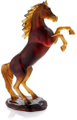 Daum Spirited Horse Figurine