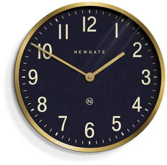 Newgate Master Edwards Wall Clock - Radial Brass