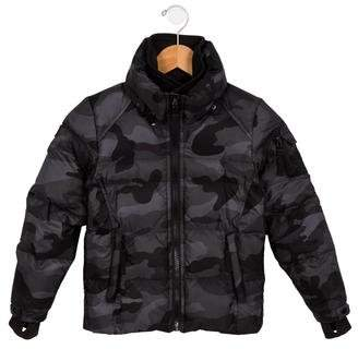SAM. Boys' Hooded Down Coat