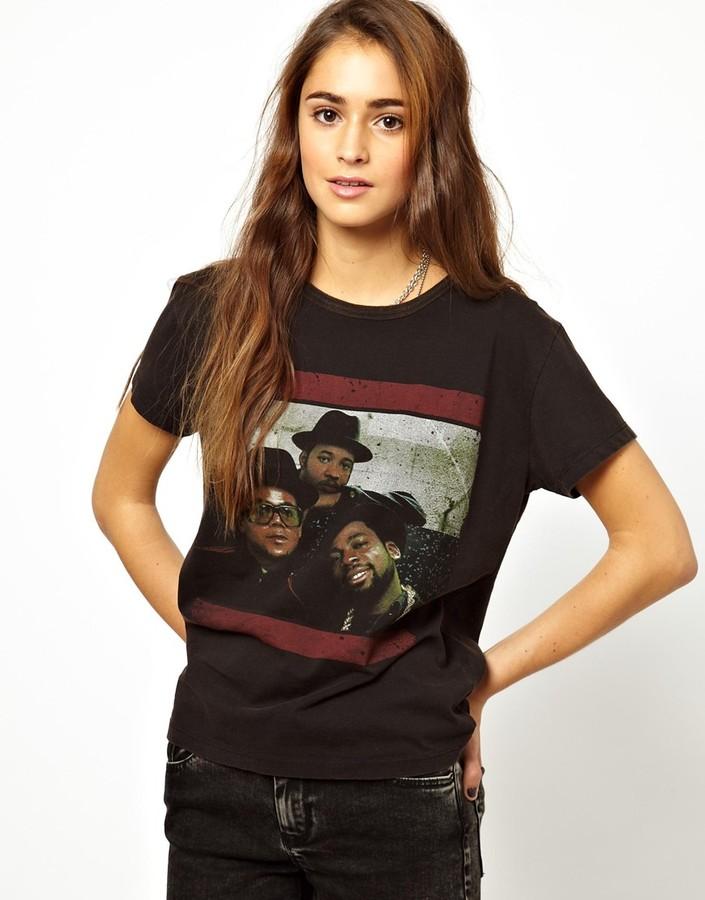 Amplified Hip Hop Run DMC Trio T-Shirt
