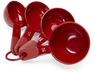 KitchenAid Set of 4 Red Measuring Cups