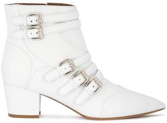 Tabitha Simmons Christy multi buckle boots