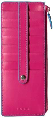 Lodis Audrey RFID Card Case With Zip Pocket Credit card Wallet