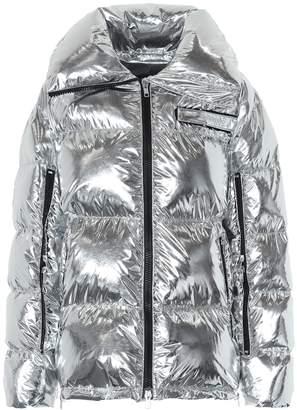 Calvin Klein Metallic puffer jacket