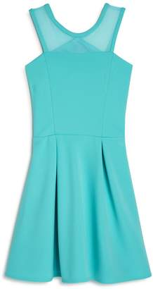 Sally Miller Girls' Carly Pleated Cutout Dress