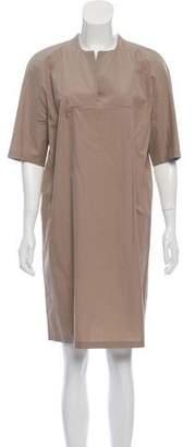 Calvin Klein Collection Short Sleeve Shift Dress