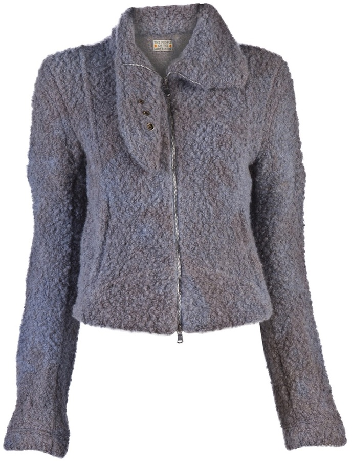 People of the Labyrinths The boiled wool jacket
