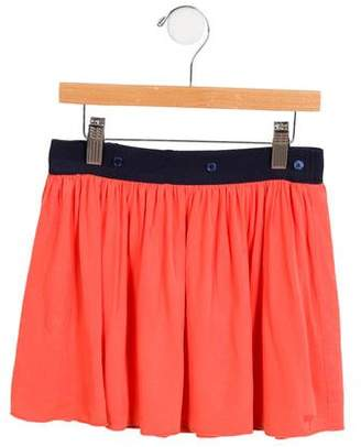 Little Marc Jacobs Girls' Draped A-Line Skirt
