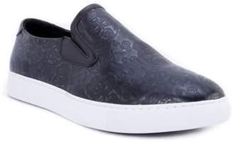 Robert Graham Baxter Embossed Slip-On Sneaker
