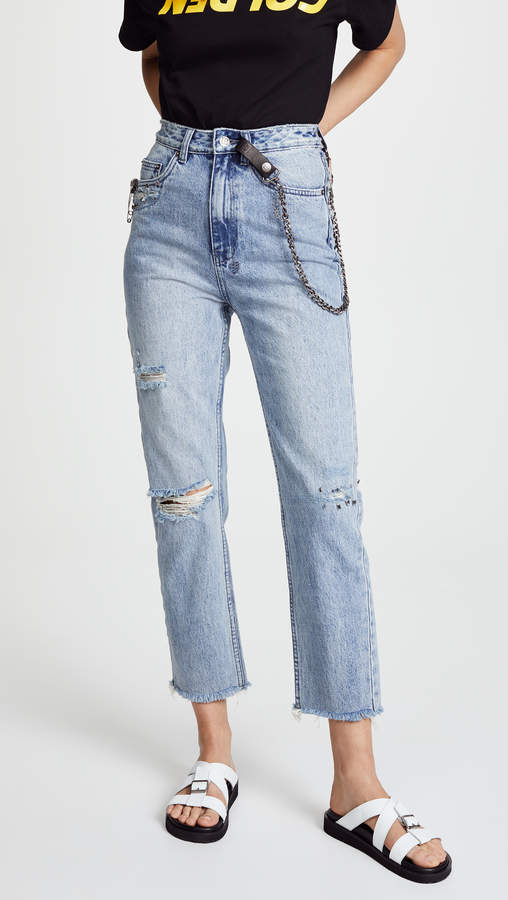 Chlo Wasted Straight Leg Jeans