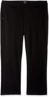 a50d60888d9 ... Amazon.com · Calvin Klein Women s Plus SizePonte Bootleg Pant-30 Inch  Inseam Size