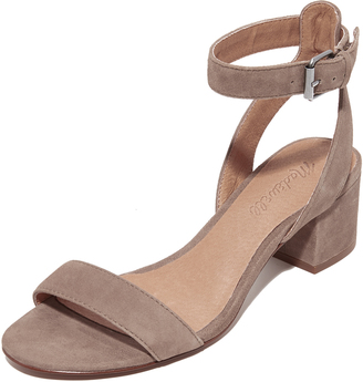Madewell Alice Sandals $128 thestylecure.com