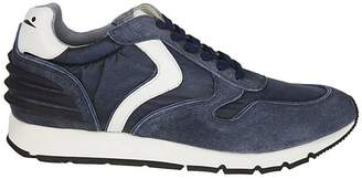 Voile Blanche Jersey Paneled Sneakers