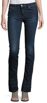Joe's Jeans The Micro Flare Released-Hem Jeans, Joslyn $179 thestylecure.com