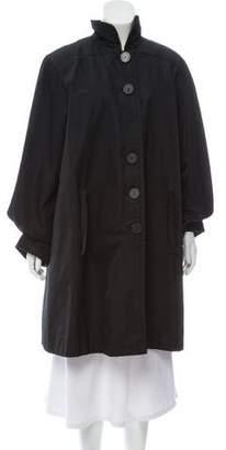 Saint Laurent Vintage Knee-Length Coat