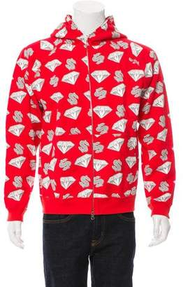 Billionaire Boys Club Riches of Wealth Graphic Zip-Up Hoodie