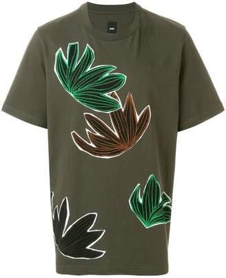 Oamc leaf print T-shirt