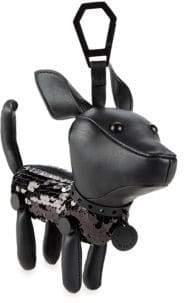 KENDALL + KYLIE Sophie Sequin Dog Keyring