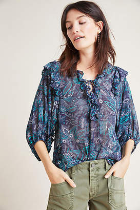 Anthropologie Haida Peasant Top
