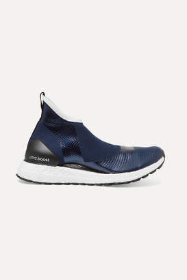 adidas by Stella McCartney Parley For The Oceans Ultraboost X All Terrain Metallic Primeknit Sneakers - Navy