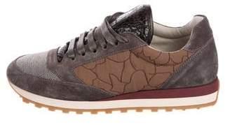 Brunello Cucinelli Monili Low-Top Sneakers w/ Tags
