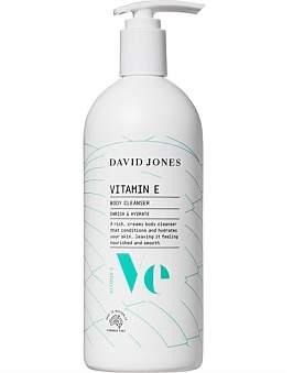 David Jones Beauty Vitamin E Body Cleanser 500Ml