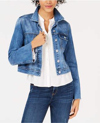 American Rag Juniors' Cotton Bell-Sleeve Denim Jacket