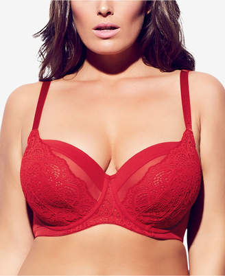City Chic Trendy Plus Size Underwire Lace Bra