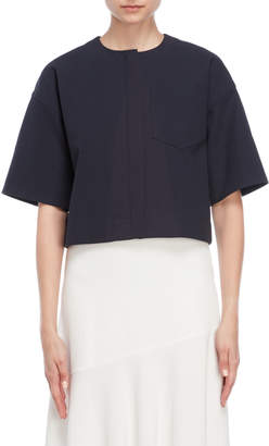 Jil Sander Cropped Pocket Zip Jacket