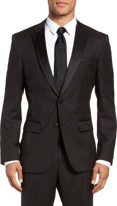 BOSS Hence CYL Slim Fit Wool Dinner Jacket