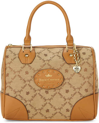 Juicy Couture Tobacco Yours Truly Satchel