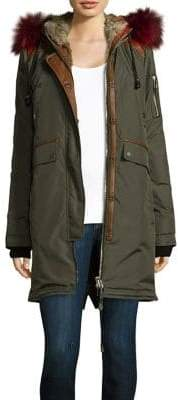 Brera Nicole Benisti Fox& Rabbit Lined Parka