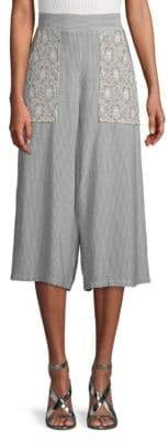 BCBGeneration Striped Woven Pants