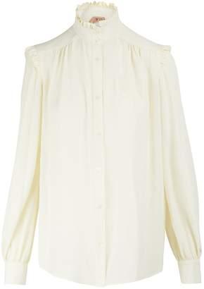 N°21 N 21 Silk-blend shirt