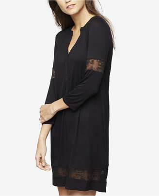 A Pea In The Pod Maternity Lace-Trim Nightgown $58 thestylecure.com