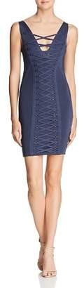 GUESS Mirage Lace-Up Dress