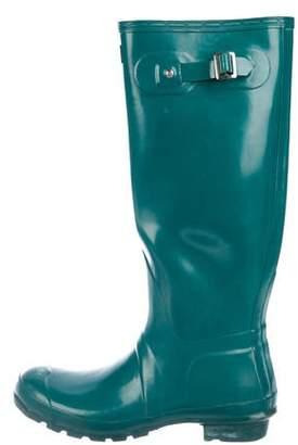 Hunter Rubber Knee-High Rainboots