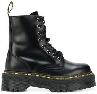 Dr. Martens platform ankle boots