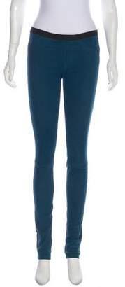 Helmut Lang Mid-Rise Leather Pant