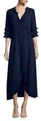 Cooper St Les Fleurs Bridgette Wrap Maxi Dress