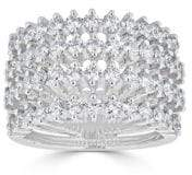 Saks Fifth Avenue Ideal-Cut Diamond and 14K White Gold Ring