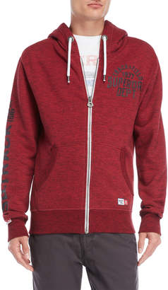 Superdry Zip-Up Fleece Hoodie
