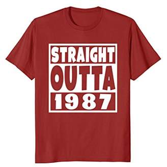 3.1 Phillip Lim Straight Outta 1987 T-Shirt 31st Birthday For A Year Old