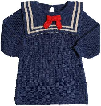 Oeuf Sailor Baby Alpaca Knit Dress