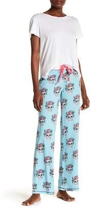 PJ Salvage Skull Print Pajama Bottoms