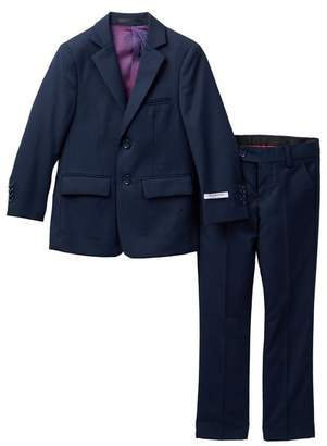 Isaac Mizrahi Slim Fit Solid Suit (Toddler, Little Boys, & Big Boys)