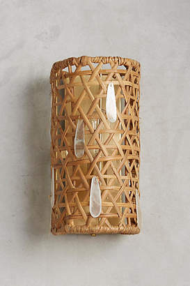 Anthropologie Paillette Sconce